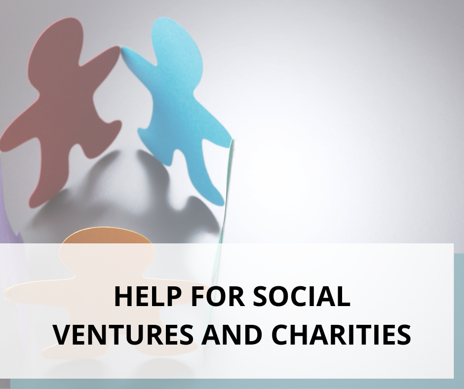 HELP FOR SOCIAL VENTURES AND CHARITIES